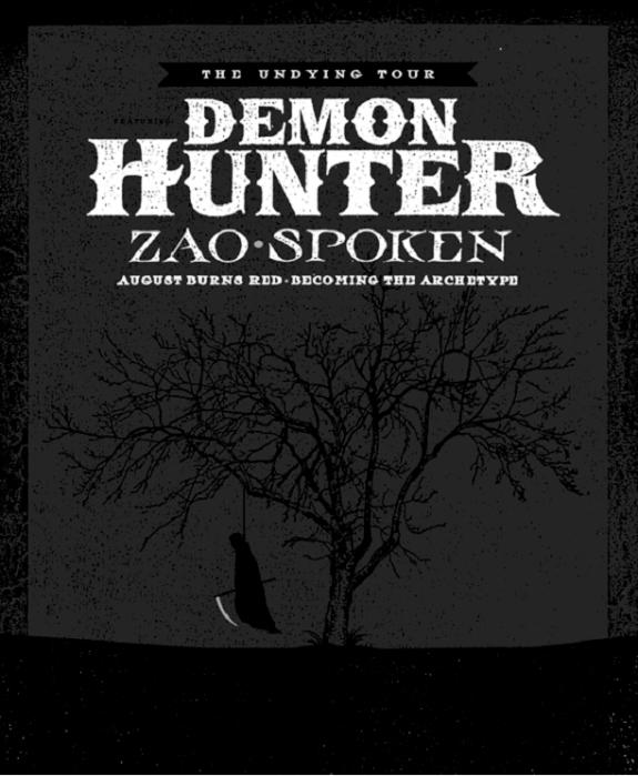 Undying Tour of Demon Hunter (Hard Rock Band)