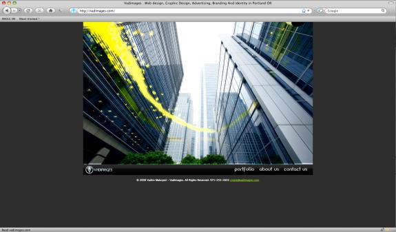 Vadim Makoyed's (Vadimages) portfolio website