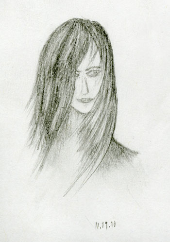Face sketch by Vadimages
