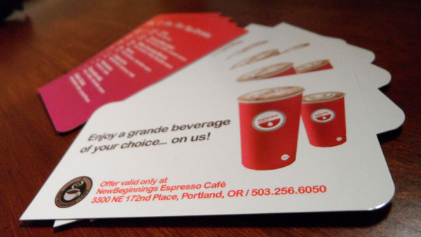 Seattle's Best Coffee Card by Vadimages`