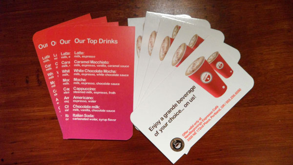 Seattle's Best Coffee Card by Vadimages