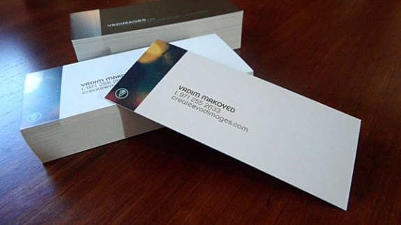 Vadimages business card