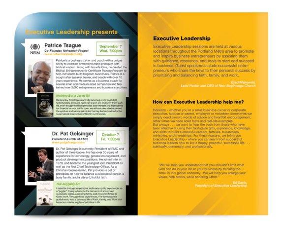 Executive Leadership Brochure by Vadim Makoyed