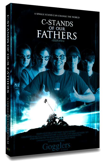 C-Stands Of Our Fathers. DVD case design by Vadimages