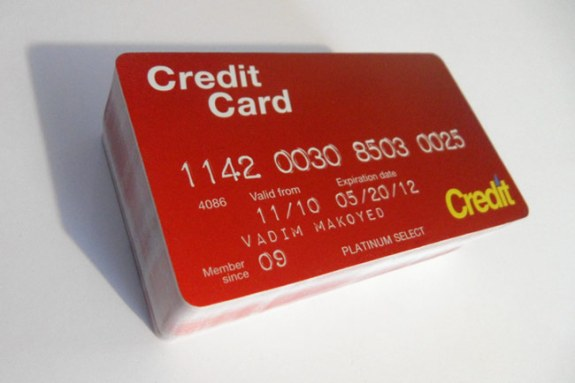 Vadim Makoyed Credit Card for Off the Hook Campaign