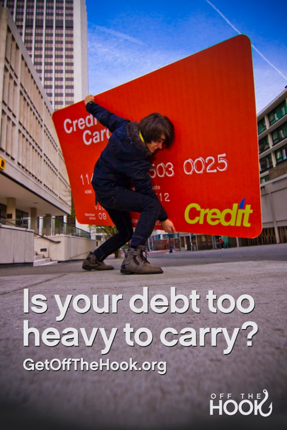 Is your debt too heavy to carry? Get off the hook.