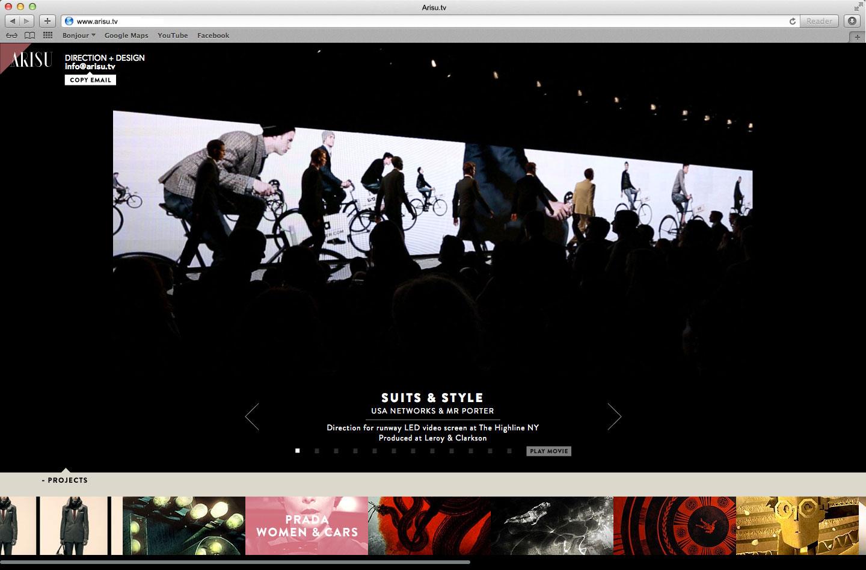 Arisu.tv developed by Vadimages